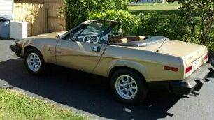 V8 Wedge:  1980 Triumph TR8  – Sold!