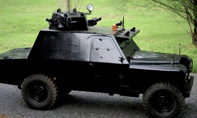 18 Months Gone: 1973 Shorland Mk3 Armored Patrol Car – SOLD!
