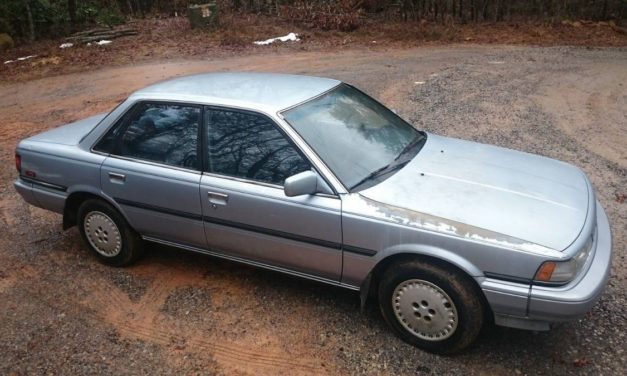 Center Diff: 1988 Toyota Camry ALL-TRAC 5-Speed – SOLD!