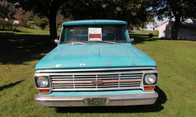 Side of the Road 18: 1969 Ford F100 Ranger Pickup – $7,500 OBO
