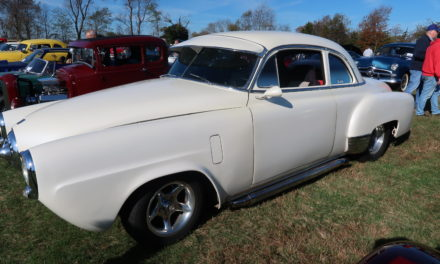 Space 7: '50 Studebaker Front / '51 Chevy Rear – SOLD!