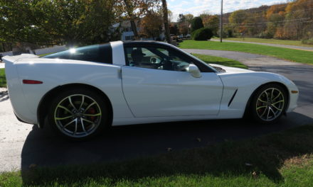 Reserved Parking 8: 2008 Chevrolet Corvette Coupe 3LT Tastefully Modified – SOLD!