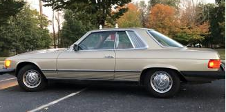 Rare Coupe:  1979 Mercedes-Benz C107 450 SLC 57K Mile Two Owner Survivor- $8,900