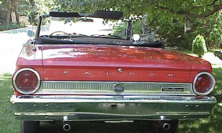 Mustang in Disguise: 1964 Ford Falcon Futura Convertible – Sold!