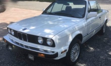 Cherished E30: 1987 BMW 325i 5-Speed Convertible – $9,000 OBO