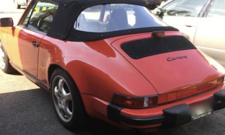 Classic Cabrio: 1988 Porsche 911 Cabriolet – Sold!