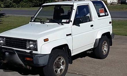Rocky Road:  1990 Daihatsu Rocky – SOLD!