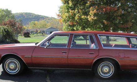 Red Red Wagon:  1977 Oldsmobile Custom Cruiser – $6,800
