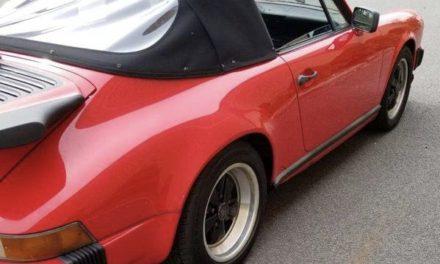 Hidden Gem: 1989 Porsche 911 Carrera Cabriolet One Owner – Sold!