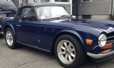 One Last Gasp: 1973 Triumph TR-6 – Sold!