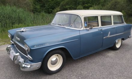 Dependable Classic: 1955 Chevrolet Townsman Station Wagon – $17,000