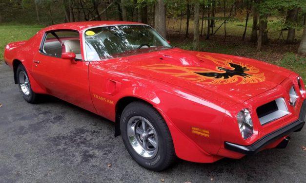 Six Months Gone:  1974 Pontiac Trans Am 455 – Sold!