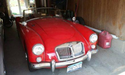 Steel Floors:  1961 MGA Mark II Roadster – $19,750