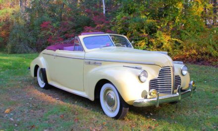Dynaflashback:  1940 Buick 50 Super Two Door Convertible – Sold!