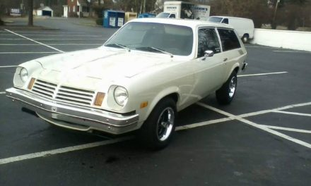 Sleeper Shooting Brake:  1976 Chevrolet Vega 383 Powered Two Door Wagon – $6,900