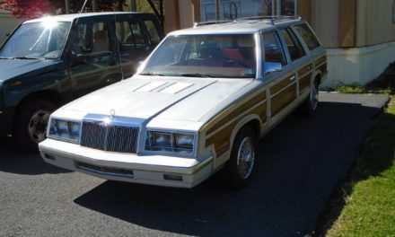 Faded Faux:  1985 Chrysler Town & Country Turbo Station Wagon – $2,800