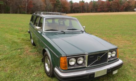 Lead Brick:  1980 Volvo 265 GLE D6 Estate Diesel – STILL $7,000