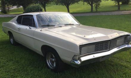 Moonshine Runner?:  1968 Ford Galaxie 500 Fastback – $5,700