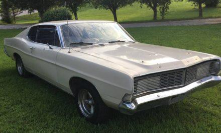 Moonshine Runner?:  1968 Ford Galaxie 500 Fastback – $5,700