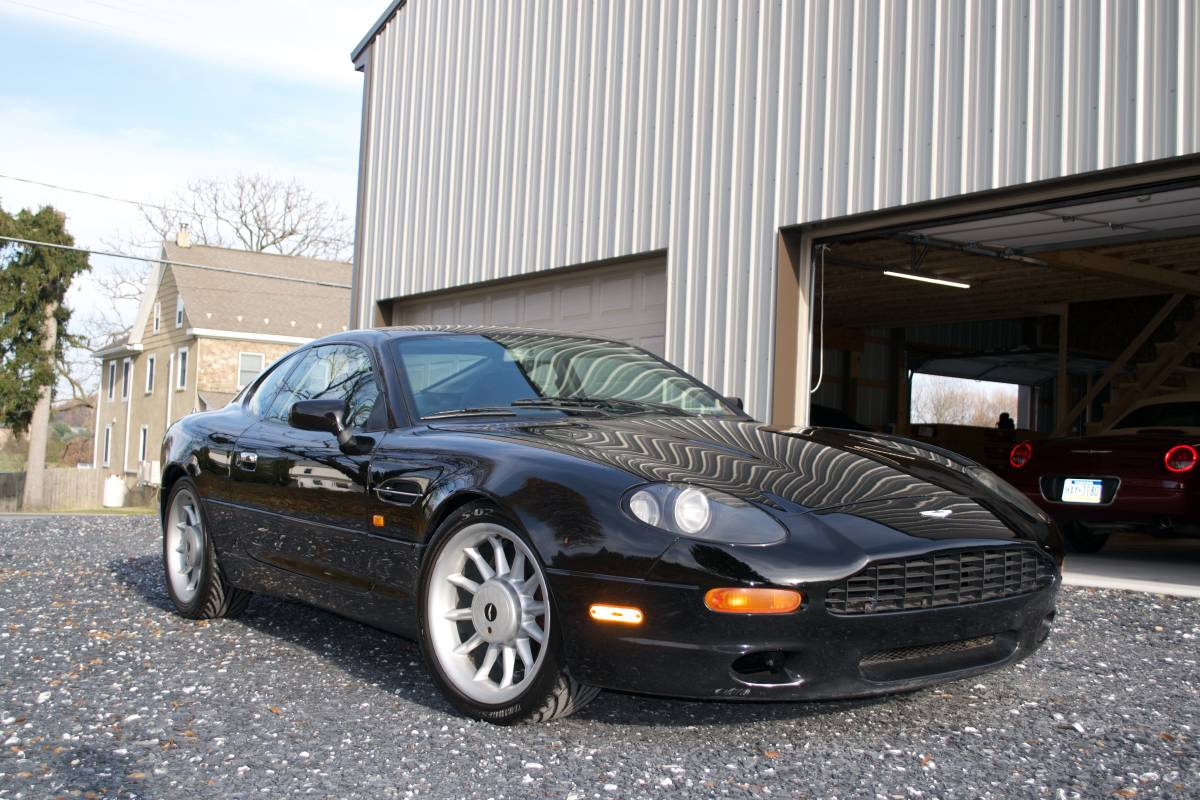 Jag In Drag 1997 Aston Martin Db7 Coupe 23 900 Guyswithrides Com