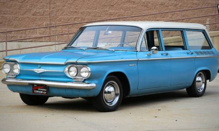 One Year Only:  1961 Chevrolet Corvair 700 Lakewood Wagon – $8,500