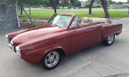 Out of Hibernation: 1950 Studebaker Champion Convertible Restomod – Sold!