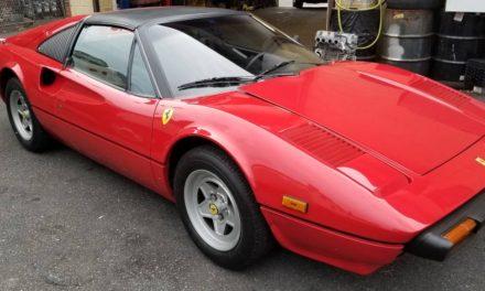 NEW! Award 24:  1982 Ferrari 308 GTSi Targa – $68,500