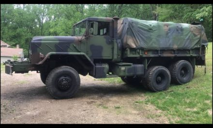 855 Cubic Inches:  1984 AM General M925 Hardtop 6×6 Cargo Truck – $10,900