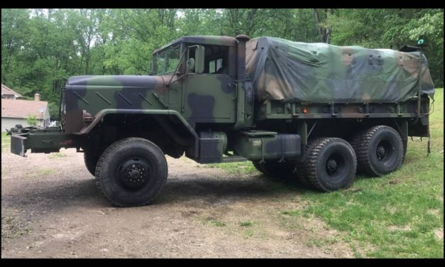855 Cubic Inches:  1984 AM General M925 Hardtop 6×6 Cargo Truck – SOLD!