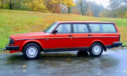 Flying Brick:  1993 Volvo 240 Wagon – NOW $7,995