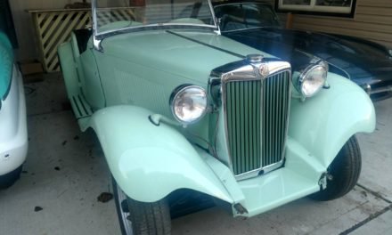 Easy Winter Project:  1952 MG TD Project – $8,500
