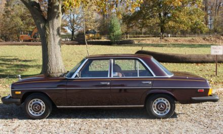 Tobacco Time Capsule:  1975 Mercedes-Benz 240D 26K Mile Survivor – SOLD!