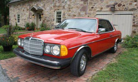 Frybird:  1983 Mercedes-Benz W123 300CD Two Door Coupe – SOLD!