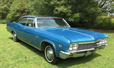 Pillarless Power: 1966 Chevrolet Caprice L35 Four Door Hardtop 15K Original Miles- $22,000
