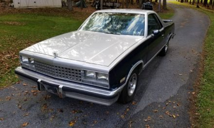 UTE With Upside:  1984 Chevrolet El Camino – $4,000