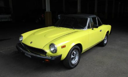 Time To Downsize: 1979 Fiat 124 Spider – SOLD!