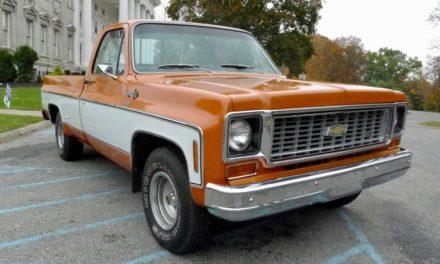 Unmolested Creamsicle: 1973 Chevrolet C-10 1/2 Ton Cheyenne Long Bed 454 Survivor – $25,900