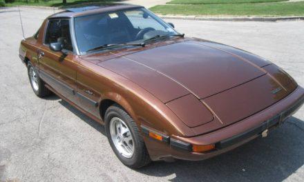 """Original Owner: 1983 Mazda RX7 First Gen """"FB"""" GSL 5-Speed – $4,800"""