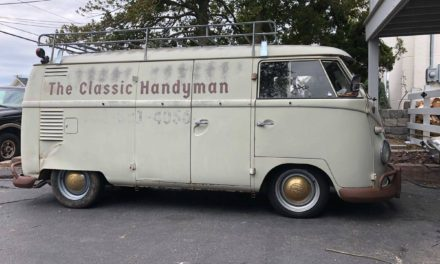 Handy Van: 1961 Volkswagen Type 2 Transporter Panel Van – $35,000
