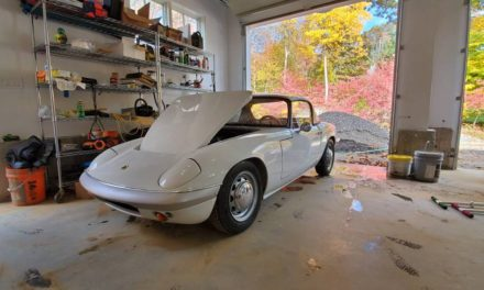 White Avenger:  1966 Lotus Elan S2 – Sold!