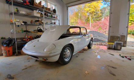 White Avenger:  1966 Lotus Elan S2 – $28,000