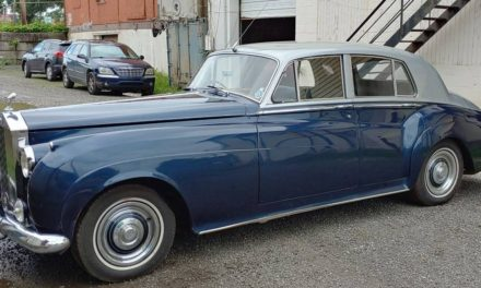 Pass The Poupan:  1960 Rolls-Royce Silver Cloud II – $22,000