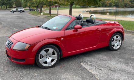 Technology & Tradition:  2001 Audi TT Quattro 1.8 Roadster – $8,900