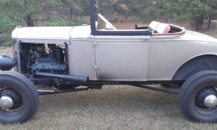 TROG Eligible?: 1931 Ford Model A Hot Rod – SOLD!