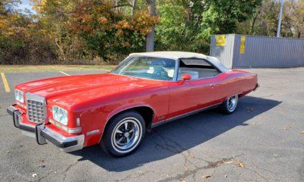 Real Deal: 1974 Pontiac Grand Ville Brougham Convertible – $5,250