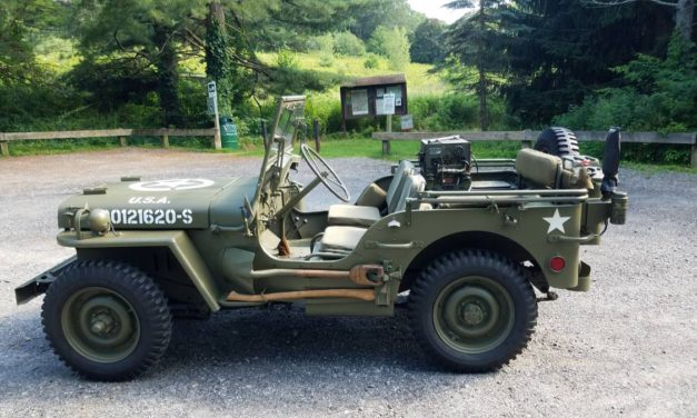 Made By Ford: 1942 Willys Jeep GPW – Sold!