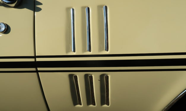 Guess What Ride 9:  What Car Has This Side Panel Trim?