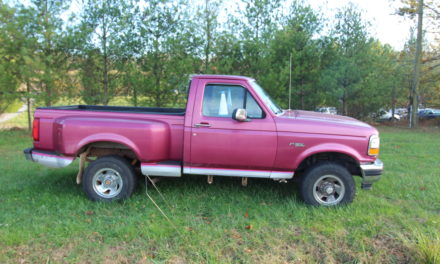 Side of the Road 20: 1992 Ford F150 Flareside 4X4 – SOLD!