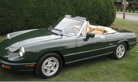 End of an Era:  1993 Alfa Romeo Spider S4 – Sold!