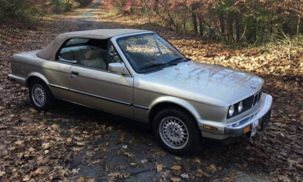 Untouched Champagne: 1987 BMW E30 325iC 5-speed – NOW $6,500